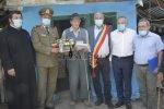 Veteran de război sărbătorit de la împlinirea a 100 de ani