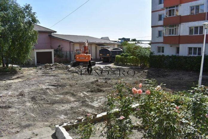 O nouă parcare, în Bârlad