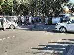 accident rutier produs din cauza nerespectării regulilor de circulație