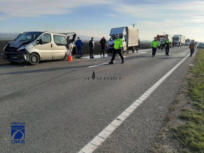 Grav accident rutier pe raza localității Sârbi