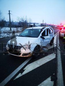 Accident rutier soldat cu o victimă la ieșirea din Bârlad