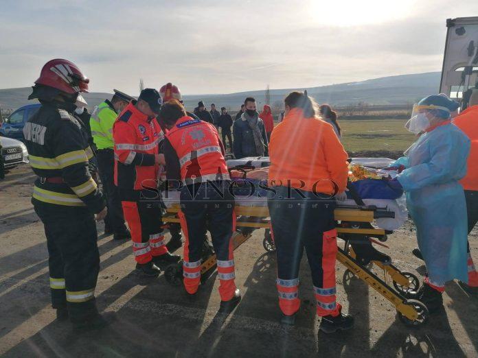 Accident rutier soldat cu victime la Floreni