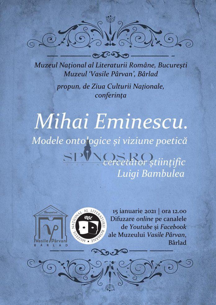 Mihai Eminescu. Modele ontologice și viziune poetică