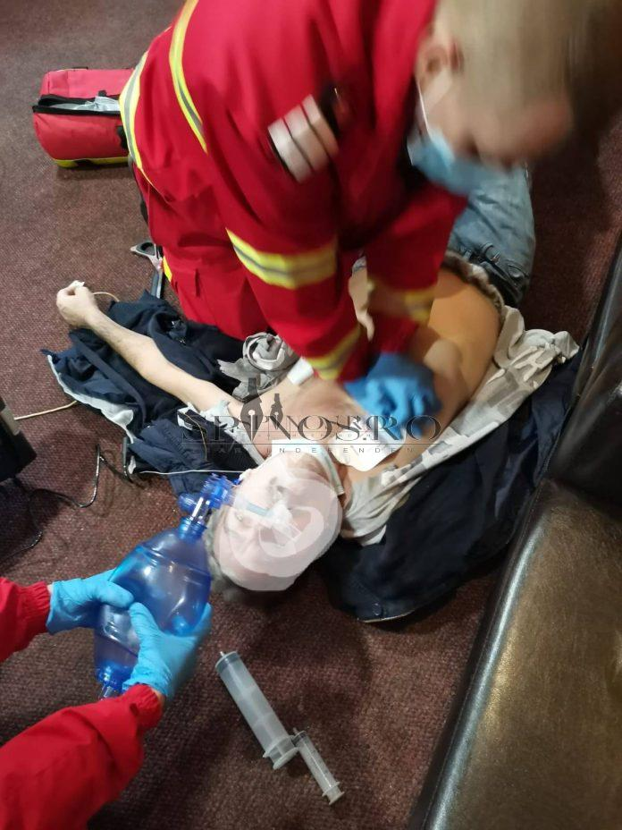 o viață salvată de paramedicii bârlădeni