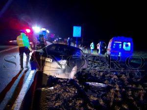 Accident rutier cu trei victime pe DE 581, la Șapte Case