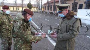 3 soldați au început cariera de militar în rezervă