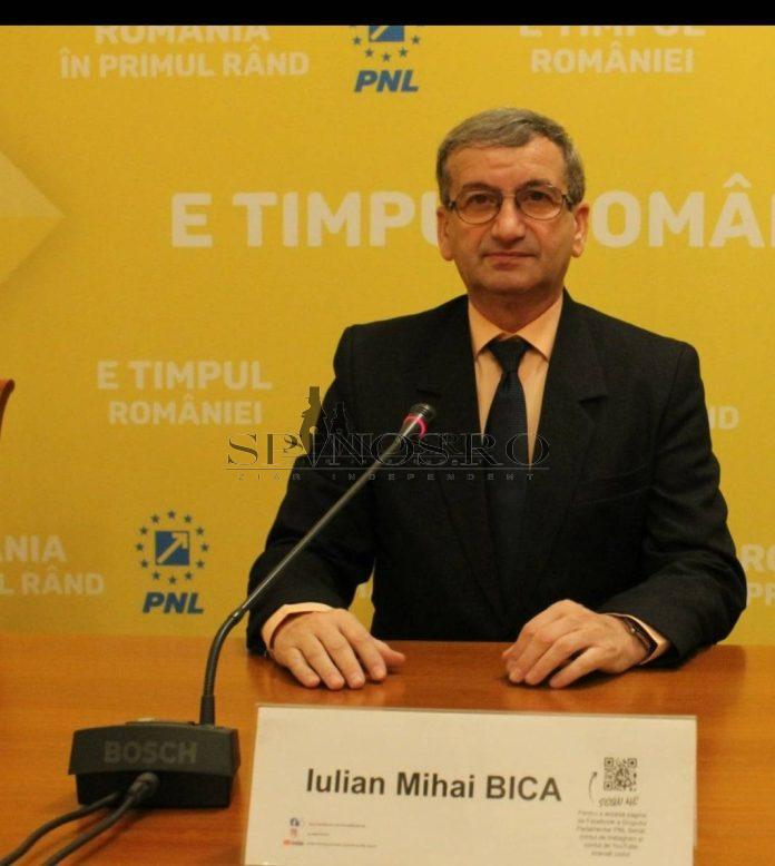 Iulian Mihail Bîca senator PNL Vaslui