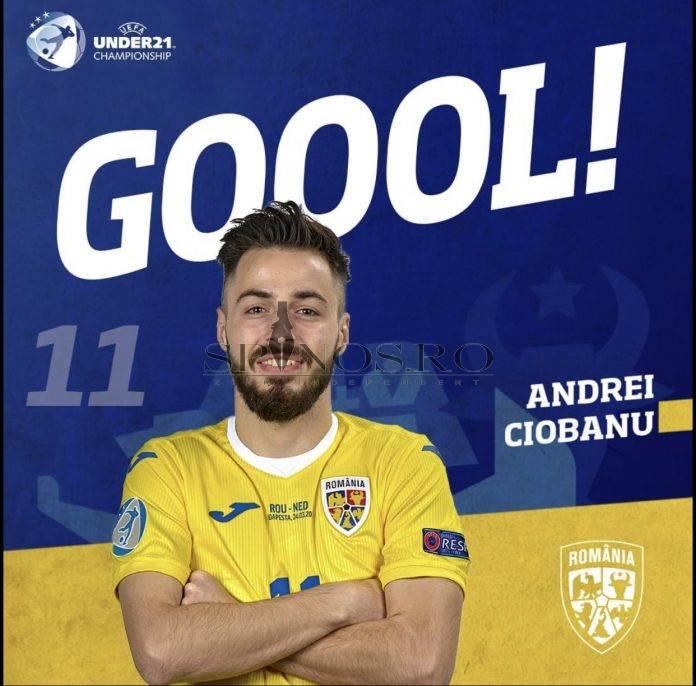 Bârlădeanul Andrei Ciobanu, omul meciului cu Olanda!