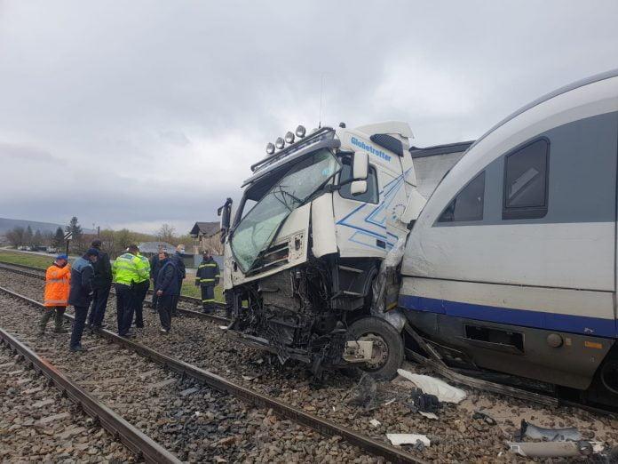 accident de tren la Roșiești