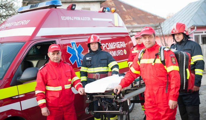 Bărbat rănit după ce a alunecat sub un motocultor cu freză