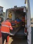 Un puști de 11 ani din Puiești și-a prins piciorul într-o motosapă (Foto)
