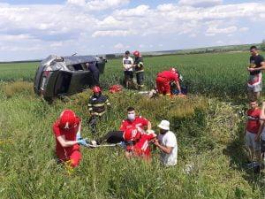 accident rutier, victime, Tutova