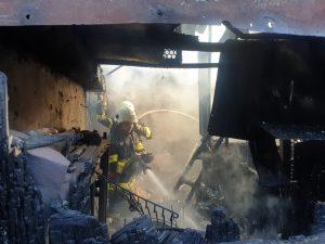 Incendiu, cazare, bârlădeni, ISU Vaslui