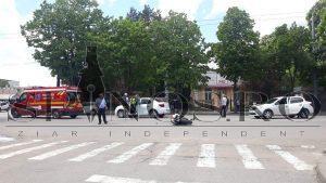 Accident rutier, Vaslui,motociclist