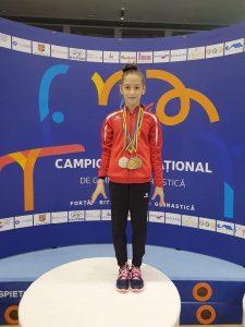 Gimnasta  Florina Trică este noua campioană!