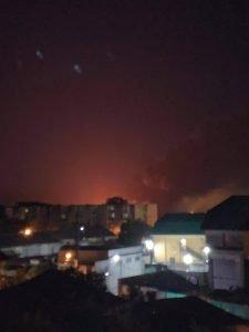 Incendiu la un depozit de materiale plastice din Bârlad