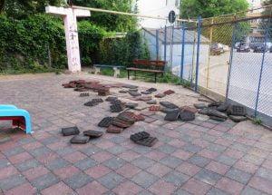Sursa foto: Mihail Manciu Un parc din Bârlad a fost vandalizat