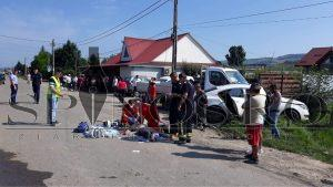 Accident rutier, DN2F, victime