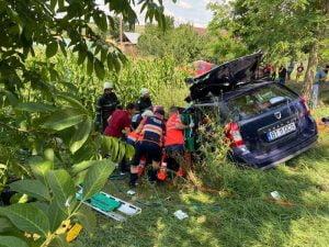 Accident  rutier soldat cu o victimă a avut loc în apropiere de Negrești