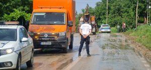 Cod portocaliu, ploi, avertizări, polițiști