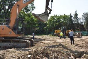 construcție grădiniță, Bârlad