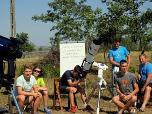 tabără astronomie, Bârlad
