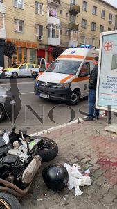 Accident, moticiclist